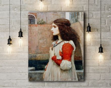 John William Waterhouse: Juliet. Fine Art Canvas.
